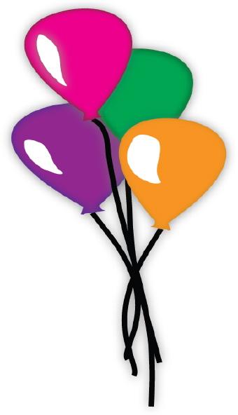 birthday clip art clipart birthday balloons border clipart birthday balloons corner
