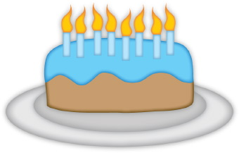 Clipart Birthday Cakes For Invitations Boys Who Are Nine