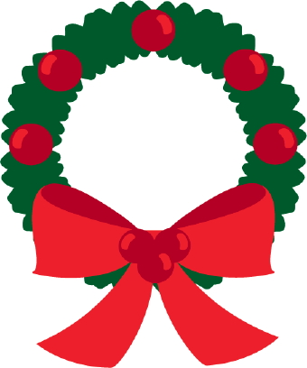 christmas clip art christmas wreath clipart png free christmas wreath clip art free images