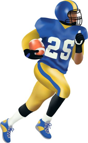football player clipart images - photo #38