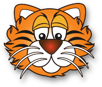 animal clip art tiger face clipart png tiger face clipart png