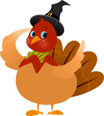 Happy Thanksgiving Black Painting