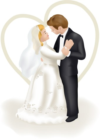 wedding clipart bride and groom jokes