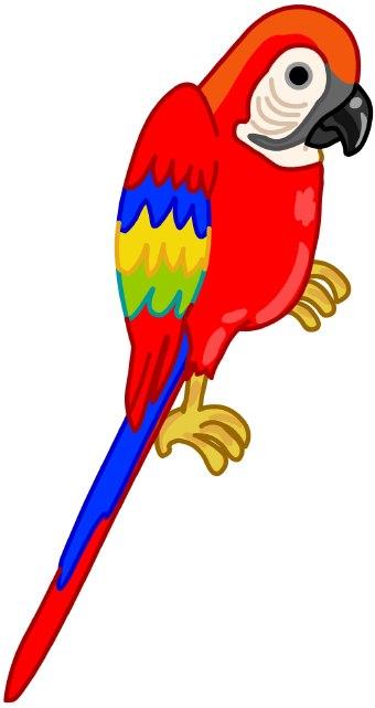 Parrot clip art - photo#9