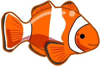 Clown Fish Printable Coloring Pages