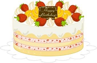 Clipart Birthday Cakes Turnning Nine