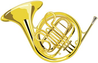 French Horn clip artFrench Horn Clipart
