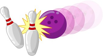 Bowling Ball clip art Bowling Pin And Ball Clipart