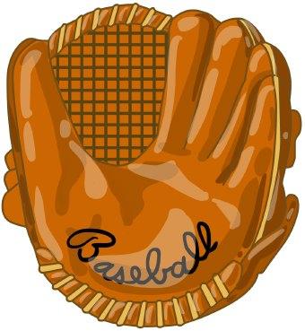 baseball glove clip art