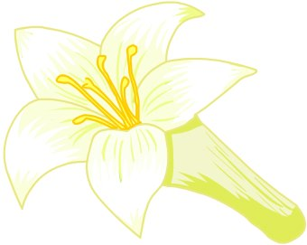 free clip art lily flowers - photo #41