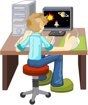 pictures of computers clipart