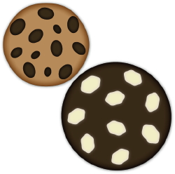 Chocolate Chip Cookies clip art