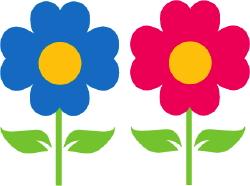 Garden Flowers clip art