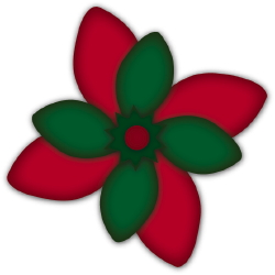 Poinsettia clip art