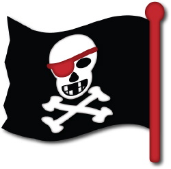 pirate clip art pirate flag clipart black and white pirate flag clipart images